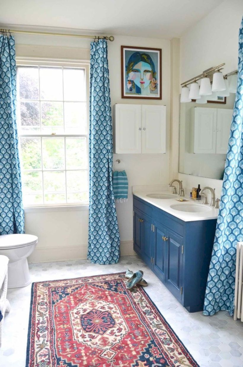 Best modern vintage bathroom reveal 37