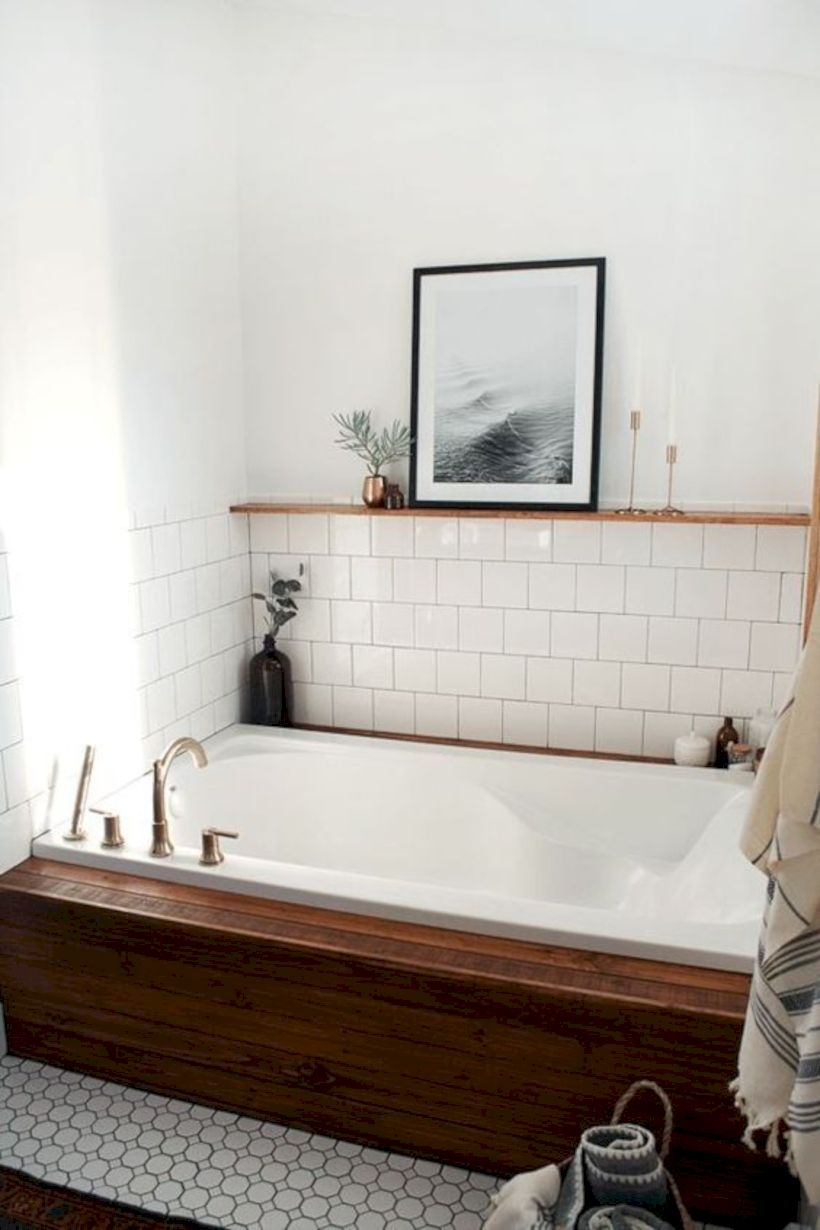 Best modern vintage bathroom reveal 39