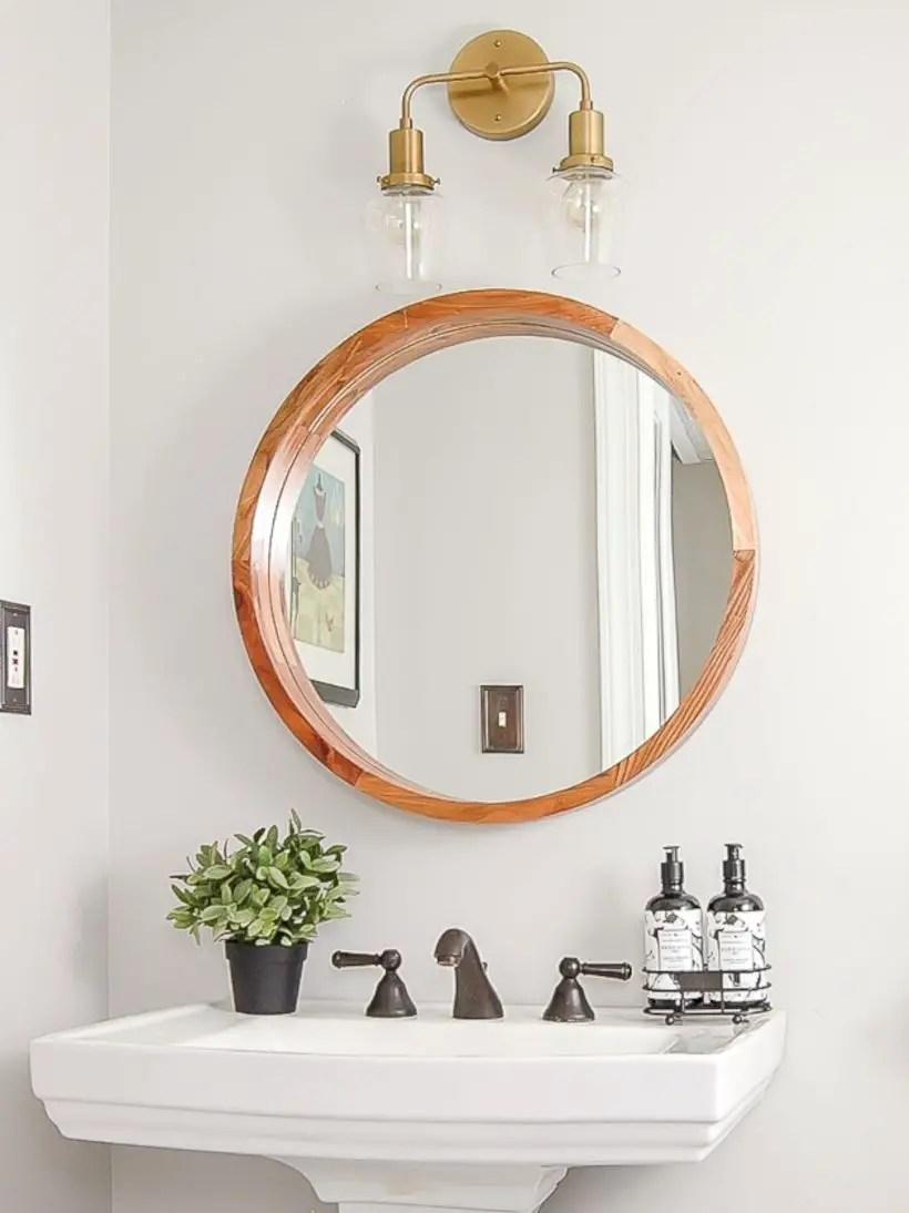 Best modern vintage bathroom reveal 50