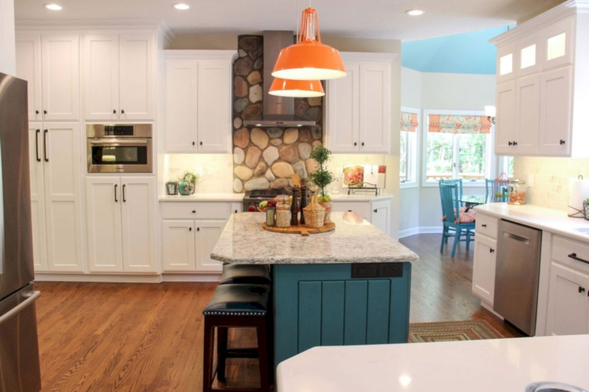 Charming custom kitchens cabinets designs 01