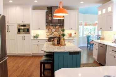 Charming custom kitchens cabinets designs 01