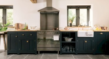 Charming custom kitchens cabinets designs 04