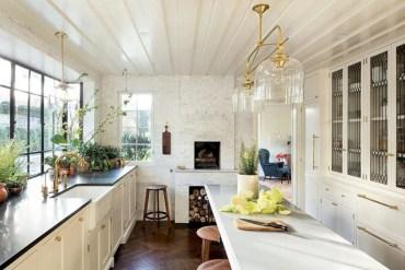Charming custom kitchens cabinets designs 06