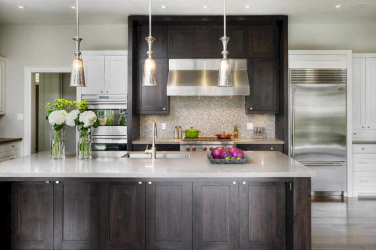 Charming custom kitchens cabinets designs 08
