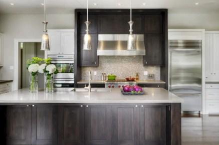 Charming custom kitchens cabinets designs 08