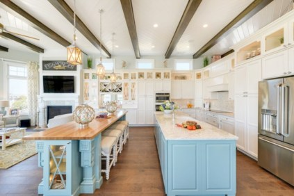 Charming custom kitchens cabinets designs 10