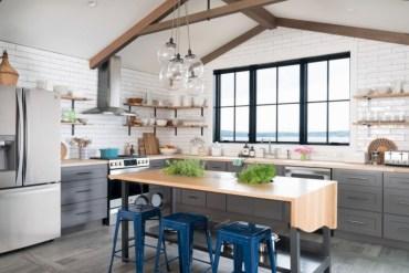 Charming custom kitchens cabinets designs 13