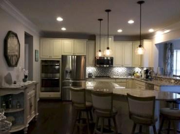 Charming custom kitchens cabinets designs 16