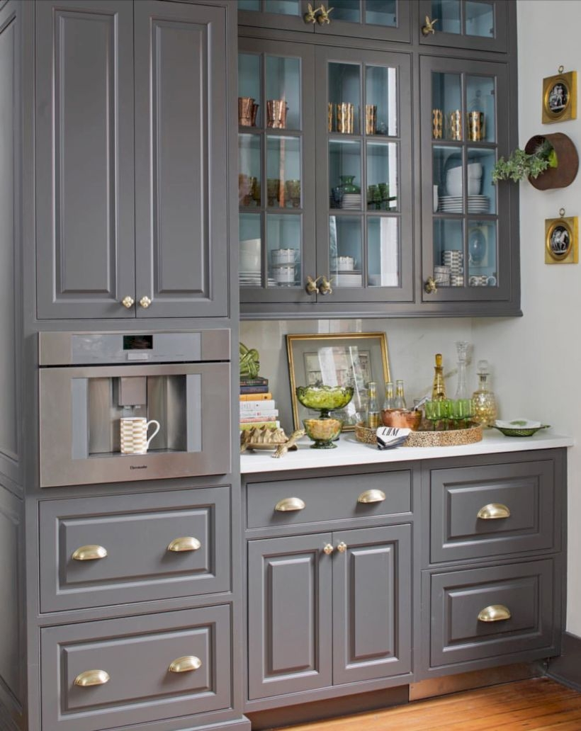 Charming custom kitchens cabinets designs 17