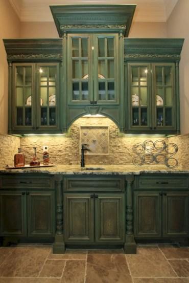 Charming custom kitchens cabinets designs 28