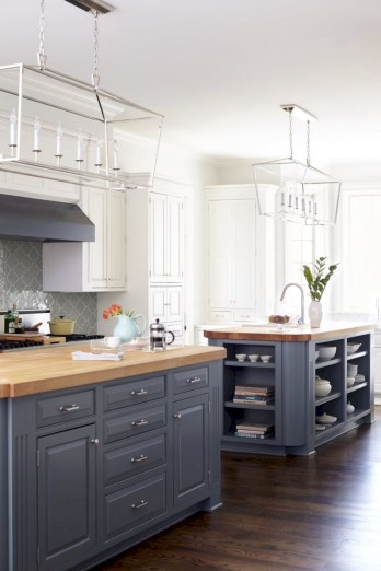 Charming custom kitchens cabinets designs 44