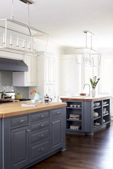 Charming custom kitchens cabinets designs 44