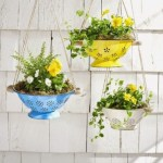 Charming outdoor hanging planters ideas to brighten your yard 21