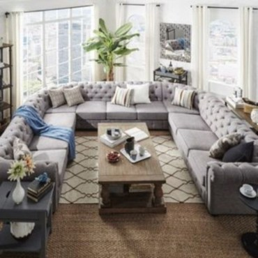 Comfortable sectional sofa for your living room 41