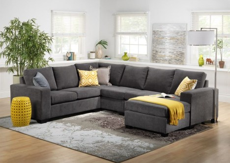 Comfortable sectional sofa for your living room 45