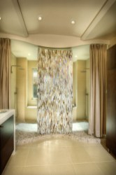 Creative bathroom with soft stone floor to massage your feet 05