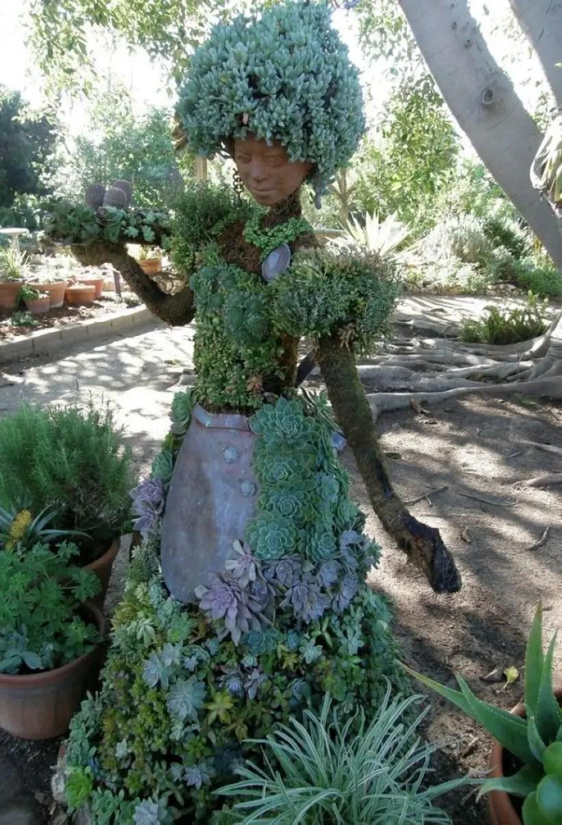 Creative garden potting ideas 11