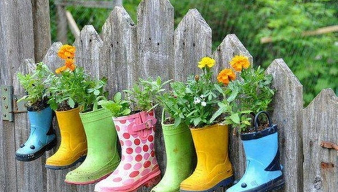 43 Creative Garden Potting Ideas