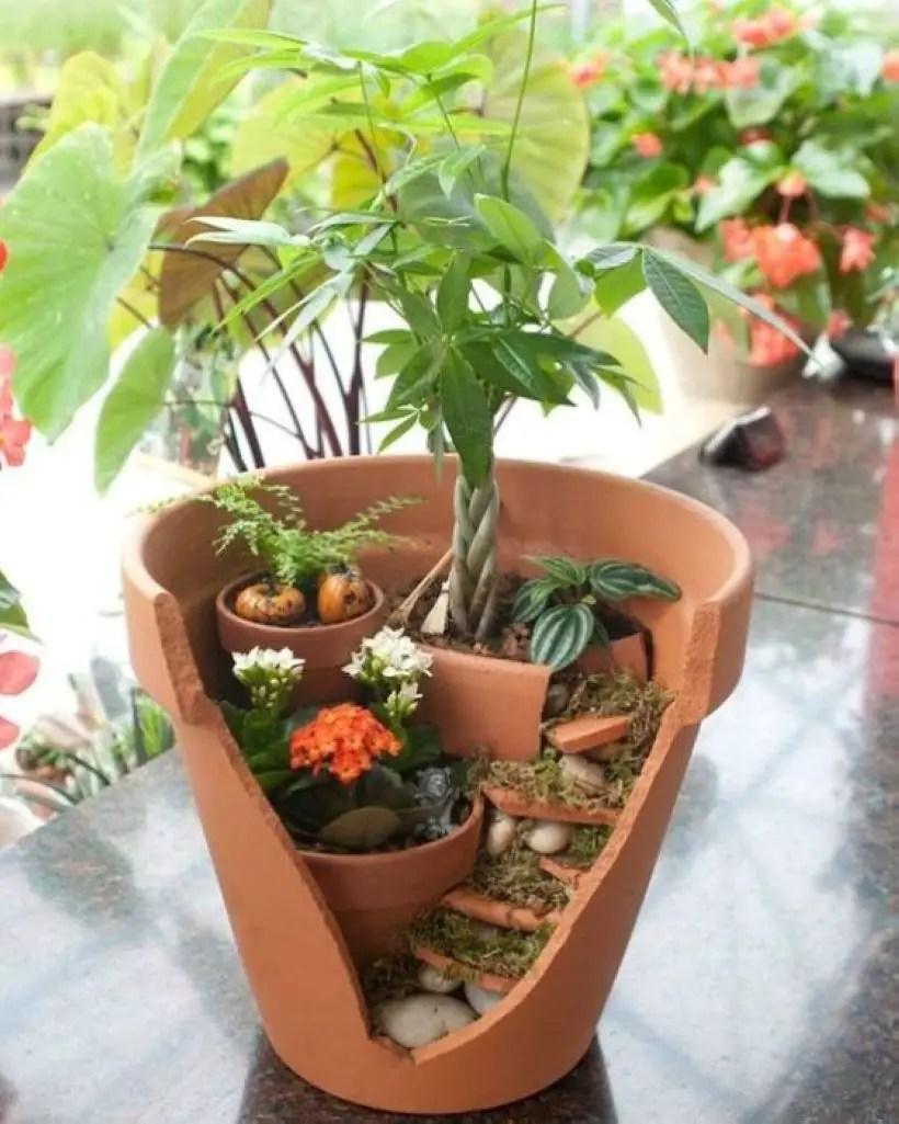 Creative garden potting ideas 15