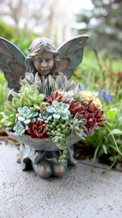 Creative garden potting ideas 16