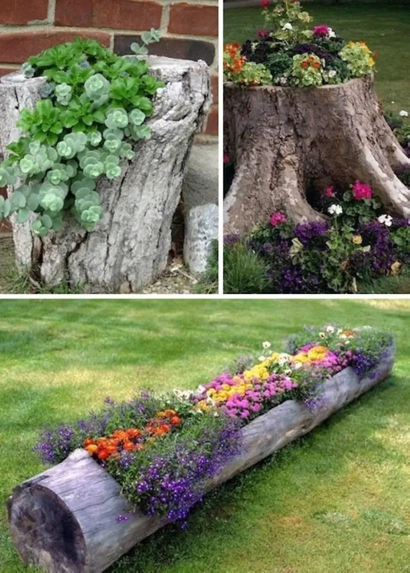 Creative garden potting ideas 21