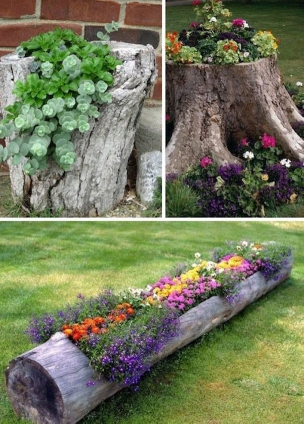 Creative garden potting ideas 21