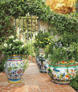 Creative garden potting ideas 28