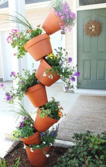 Creative garden potting ideas 42