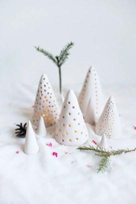 Diy christmas cone trees 20
