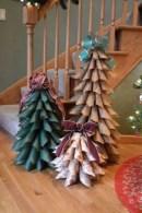 Diy christmas cone trees 29