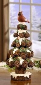 Diy christmas cone trees 33