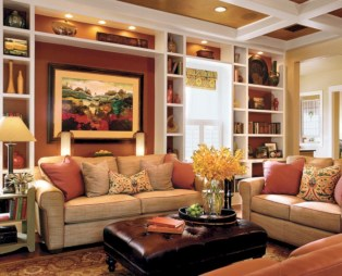 Diy wall shelves ideas for living room decoration 01