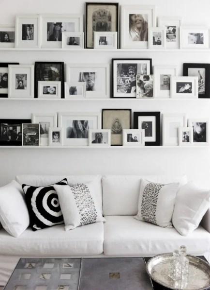 Diy wall shelves ideas for living room decoration 13