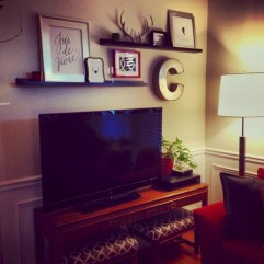 Diy wall shelves ideas for living room decoration 15