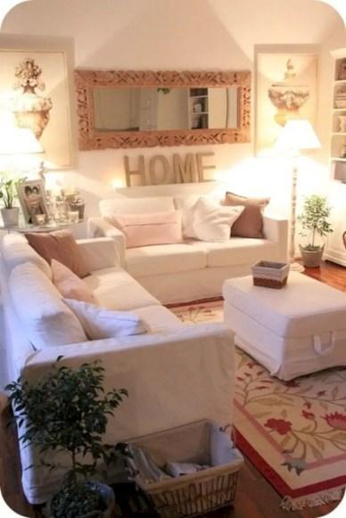 Diy wall shelves ideas for living room decoration 38