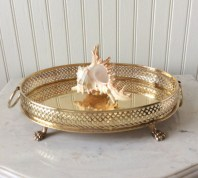 Easy diy footed vanity tray 03