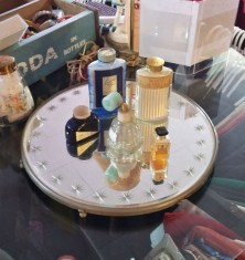 Easy diy footed vanity tray 06