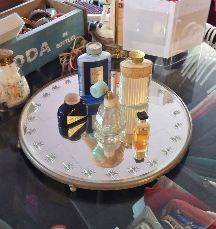 Easy diy footed vanity tray 06