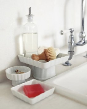 Easy diy footed vanity tray 22