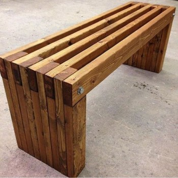 Easy pallet furniture projects for beginners 05