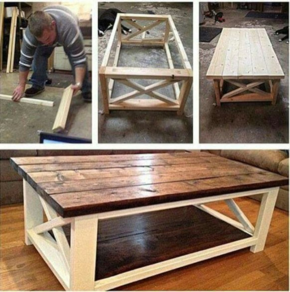 Easy pallet furniture projects for beginners 11