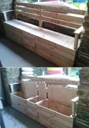 Easy pallet furniture projects for beginners 12