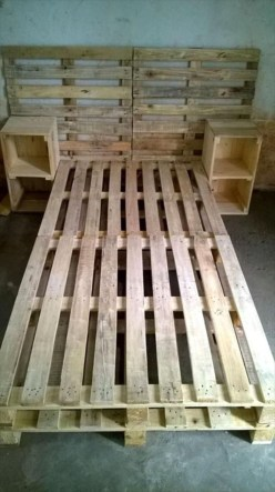 Easy pallet furniture projects for beginners 32