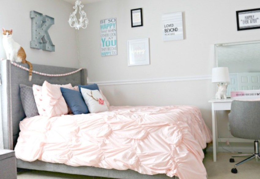 Easy and clever teen bedroom makeover ideas 13