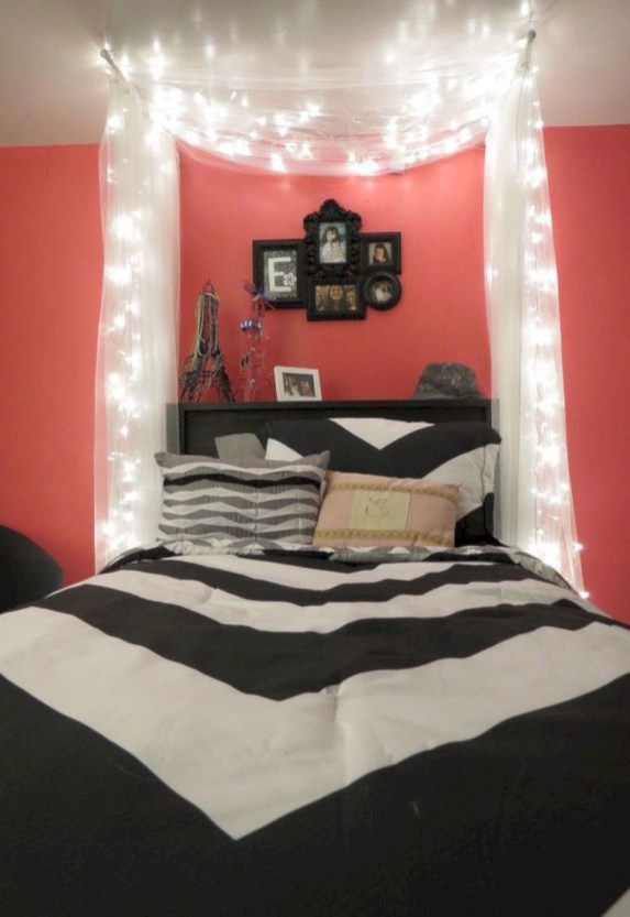 Easy and clever teen bedroom makeover ideas 33