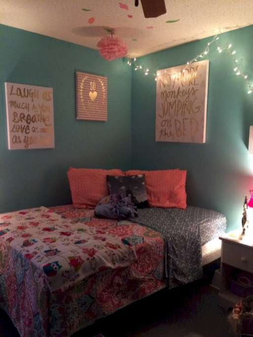 Easy and clever teen bedroom makeover ideas 35