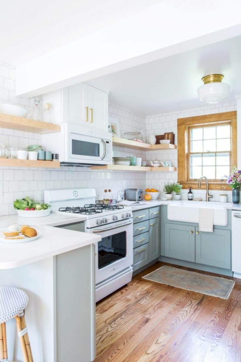 Fabulous small kitchen ideas with farmhouse style 15