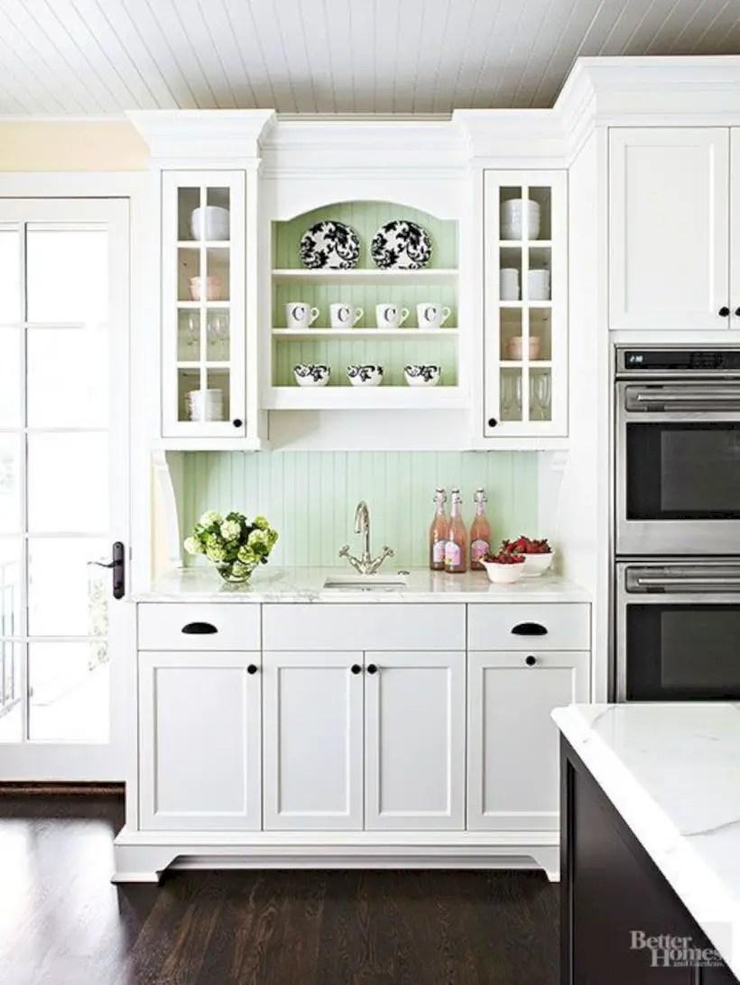 fabulous black white kitchen design ideas | 47 Fabulous Small Kitchen Ideas With Farmhouse Style ...