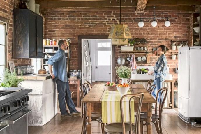Fabulous small kitchen ideas with farmhouse style 39