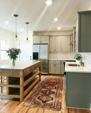 Fabulous small kitchen ideas with farmhouse style 45